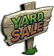 Yard Sale to benefit the APS of Caswell County